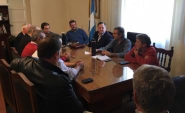 Michlig y Ptes. Comunales se reunieron con las máximas autoridades de Salud de la Provincia