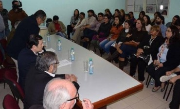 El senador Zamora se reunió con organizaciones sociales