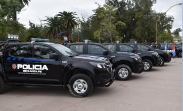 Plan del Norte: 17 móviles para la policía de Vera y 9 de Julio