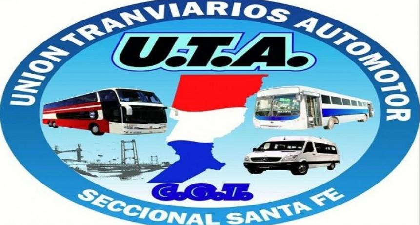 UTA Santa Fe ratificó el paro para el viernes