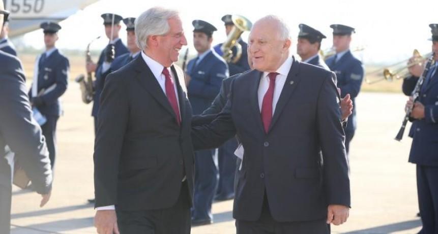 Lifschitz recibió a los presidentes de Paraguay y Uruguay