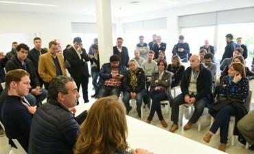 Javkin cierra su campaña con múltiples actividades en distintos puntos de Rosario