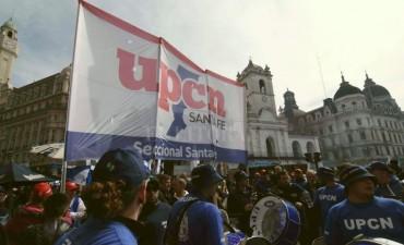 UPCN Santa Fe presente en la concentración de la CGT