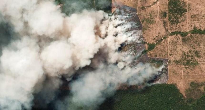 El humo de los incendios del Amazonas llegó a Santa Fe