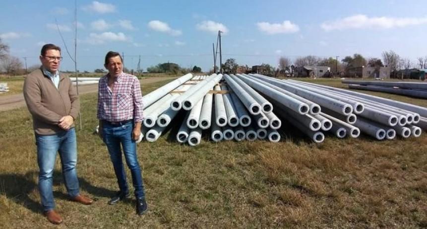 Borla anuncio una inversión de casi 100 millones de pesos en obras eléctricas