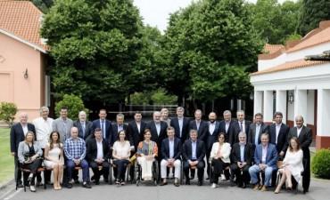 Macri recibe este jueves a todos los gobernadores