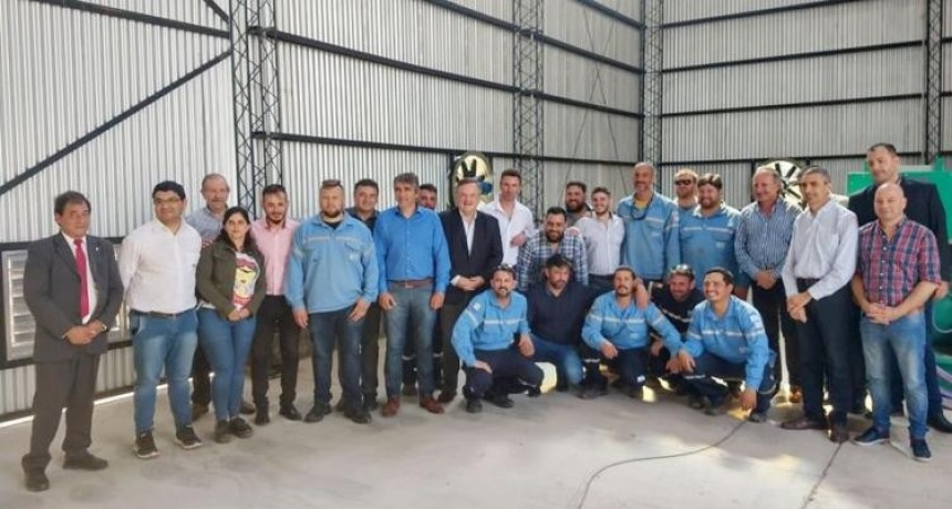 Se inauguró el nuevo edifico con habilitación de 3 generadores de energía de 1250 Kva.