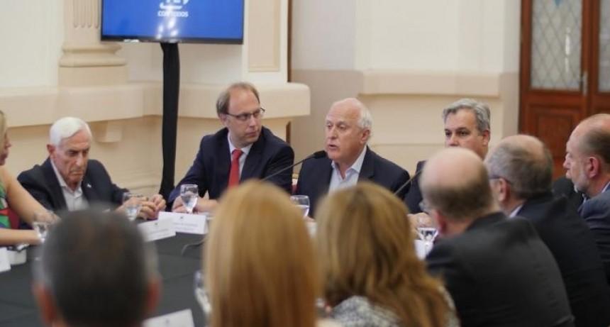 Lifschitz se reunió con legisladores nacionales