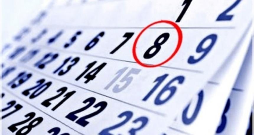¿Se traslada el feriado del domingo 8 de diciembre?